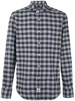 Hydrogen checked shirt