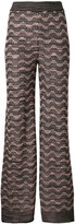 M Missoni - metallic wide-leg trouser