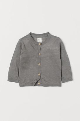 H&M Linen cardigan