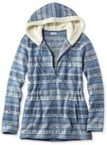 L.L. Bean L.L.Bean Fair Isle Fleece-Knit Jacket, Print