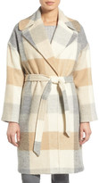Charles Gray London Plaid Wrap Coat