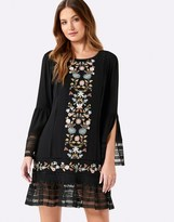 Forever New Montana Embroidered Dress