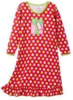Sara's Prints Printed Puffed Sleeve Nightgown (Toddler, Little Girls, & Big Girls)