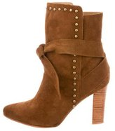 Ulla Johnson Suede Aggie Ankle Boots