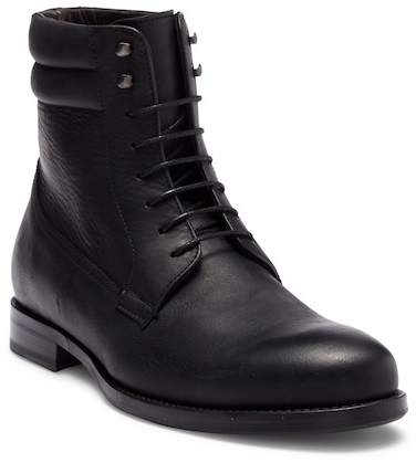 Bacco Bucci Cesc Lace-Up Leather Boot