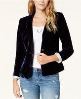 Kensie Velvet Blazer, A Macy's Exclusive Style