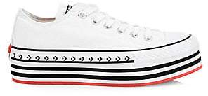 Converse Logo Play Chuck Taylor All Star Lift Archival Low-Top Sneakers
