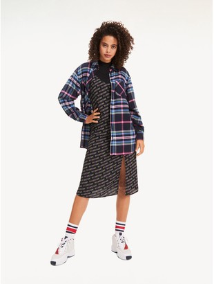 Tommy Hilfiger Vintage Print Slip Dress