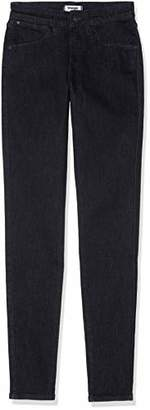 Wrangler Women's Skinny Jeans, (Rinse Black 32r), W25/L30
