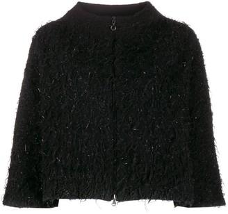Fabiana Filippi textured cropped jacket