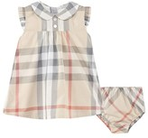 Burberry Beige Pale Classic Check Dress