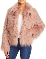 Vince Camuto Cropped Faux Fur Jacket