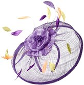 Scala Women's Sinamay Fascinator Hat