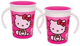 Munchkin Hello Kitty Miracle 360 Trainer Cup, 6 Ounce, 2 Count