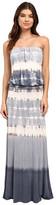 Culture Phit Erin Strapless Tie-Dye Maxi Dress
