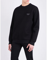 Givenchy Logo-patch Neoprene Sweatshirt