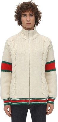 Gucci Wool Knit Bomber