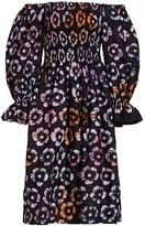 Thumbnail for your product : Busayo Anike Printed Off-The-Shoulder Dress