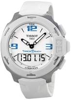 Tissot T-Race Touch T0814201701701 Stainless Steel & White Dial 42mm Mens Watch