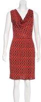 Diane von Furstenberg Jersey Knee-Length Dress