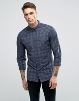 Pepe Jeans Pepe Lancaster Check Slim Fit Shirt
