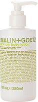 Malin+Goetz Rum Body Lotion.