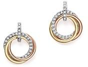 Bloomingdale's Kc Designs 14K Gold Diamond Triple Circle Earrings