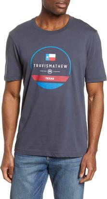 Travis Mathew Prairie Sky Graphic Tee