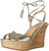 Badgley Mischka Women's Cece Espadrille Wedge Sandal