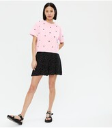 Thumbnail for your product : New Look Heart Boxy T-Shirt - Print