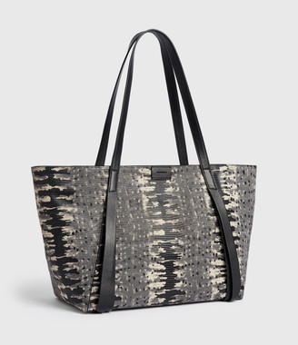 AllSaints Holston Small East West Leather Tote Bag