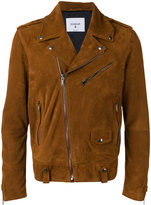 Dondup suede biker jacket - men - Viscose/Goat Suede - 48