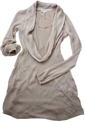 Gianfranco Ferre Beige Silk Dress for Women