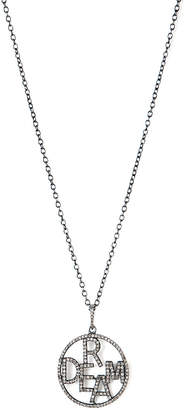 Rivka Friedman Signature Silver 0.96 Ct. Tw. Champagne Diamond Dream Necklace