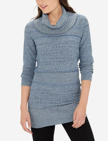 The Limited Textured Cowl Neck Tunic