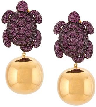 BEGÜM KHAN Caretta party earrings