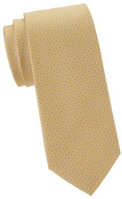 Salvatore Ferragamo Mini Gancini Silk Tie