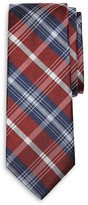 Brooks Brothers Boys' Bold Plaid Silk Tie - Little Kid, Big Kid