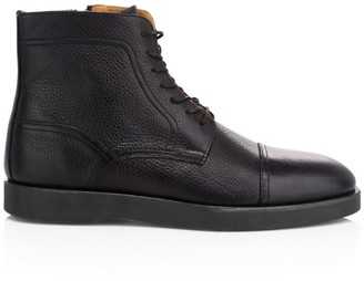 HUGO BOSS Oracle Lace-Up Ankle Boots