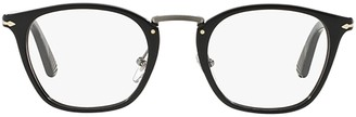 Persol Typewriter Square Frame Glasses