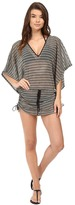 Luli Fama Desert Babe Cabana V-Neck Dress Cover-Up