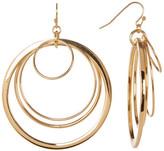 Trina Turk Multi Ring Drop Earrings