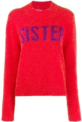 Parker Chinti & Sister print jumper