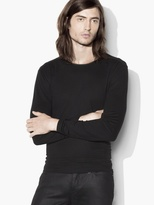 John Varvatos Long Sleeve Crewneck