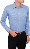 Van Heusen Gingham Dobby Check Classic Fit Shirt