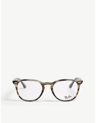 Ray-Ban Barbados square-frame optical glasses