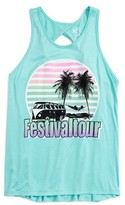 Flowers by Zoe Girl's Festival Tour Tank