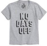 Kid Dangerous Boy's No Days Off T-Shirt