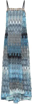 Missoni Crochet knit maxi dress