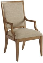 Barclay Butera Newport Upholstered Dining Chair Upholstery: Beige, Frame Color: Sandstone